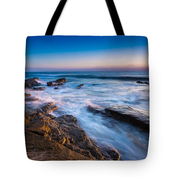 Ebb And Flow Tote Bag by Peter Tellone
