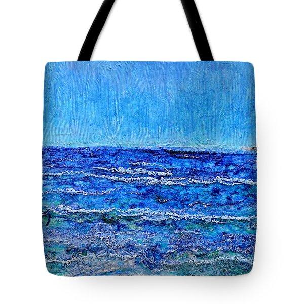 Ebbing Tide Tote Bag by Regina Valluzzi