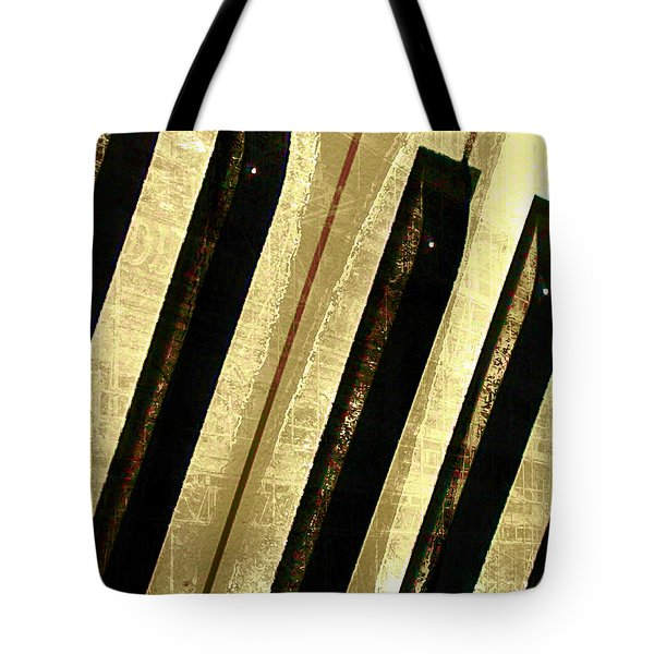 Tote Bag featuring the digital art Ebony And Ivory by Ken Walker