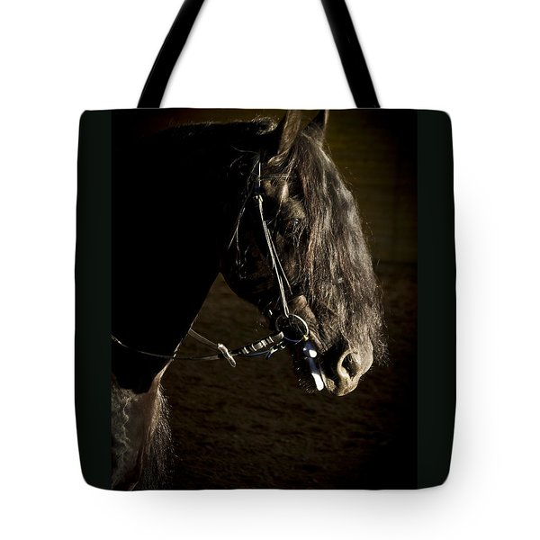 Tote Bag featuring the photograph Ebony Beauty D6951 by Wes and Dotty Weber