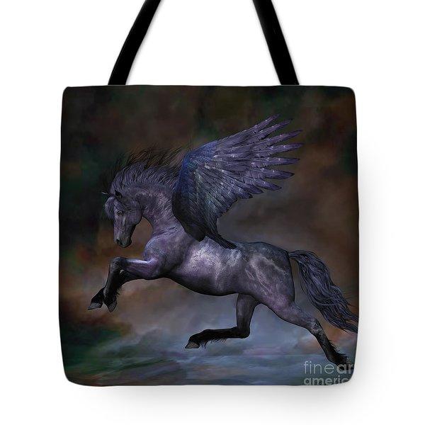 Ebony Tote Bag by Corey Ford