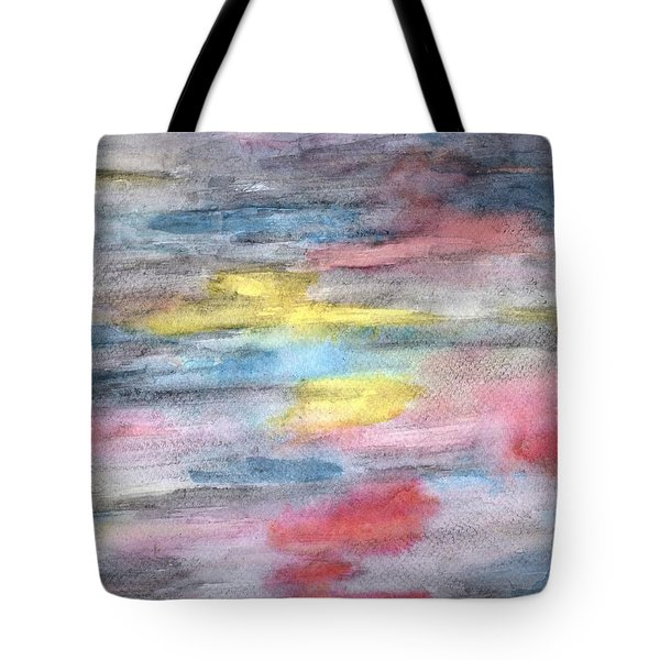 Ebony Rainbow Tote Bag by Mary Zimmerman
