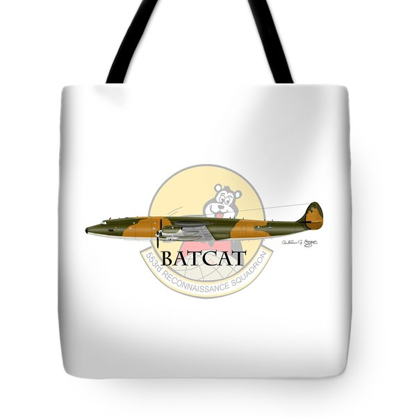 Ec-121r Batcat 553 Tote Bag by Arthur Eggers