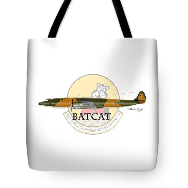 Ec-121r Batcat 553 Tote Bag