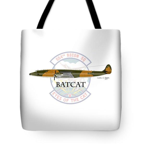 Ec-121r Batcat Tote Bag by Arthur Eggers