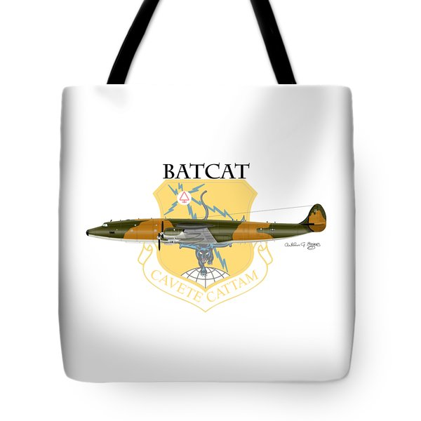 Ec-121r Batcatcavete Tote Bag by Arthur Eggers