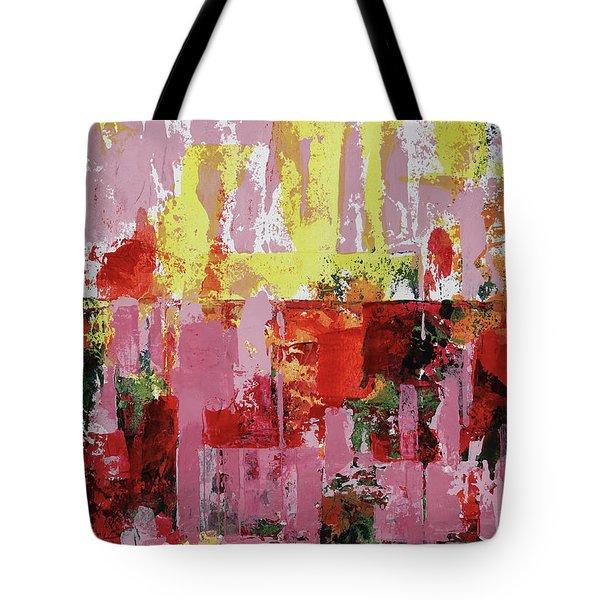 Coneflowers And Sun Tote Bag
