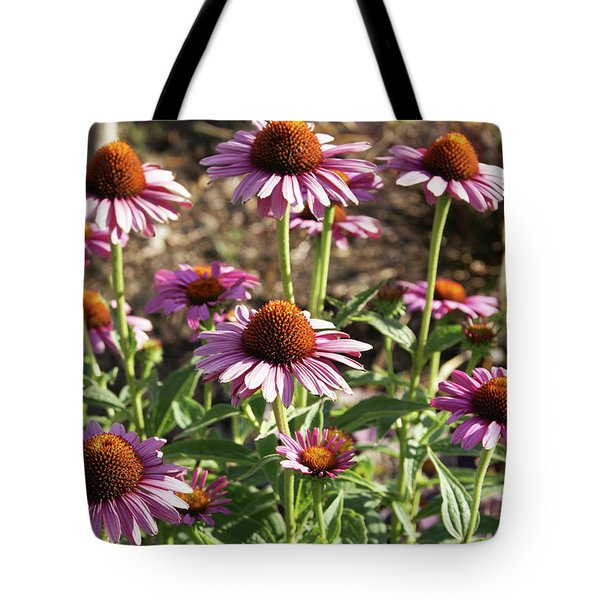 Tote Bag featuring the photograph Echinacea by Cynthia Powell