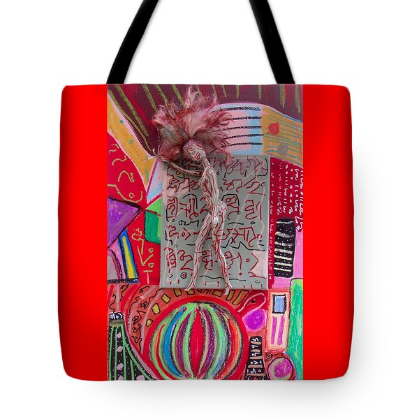 Tote Bag featuring the painting Echinacea Herbal Tincture by Clarity Artists