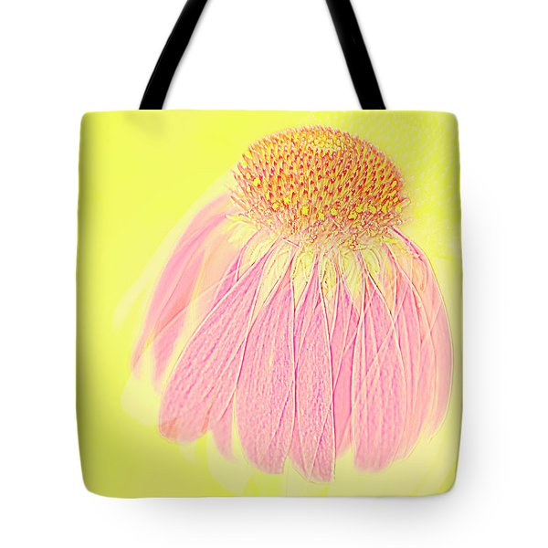 Echinacea In Pink Tote Bag