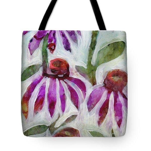Echinacea Tote Bag by Julie Maas