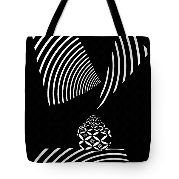 Echo In Time Tote Bag by Sarah Loft