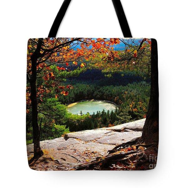 Echo Lake, New Hampshire Tote Bag