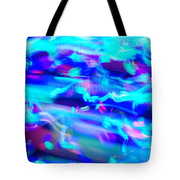 Echo Plum Tote Bag