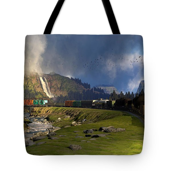 Echoes From The Caboose Tote Bag