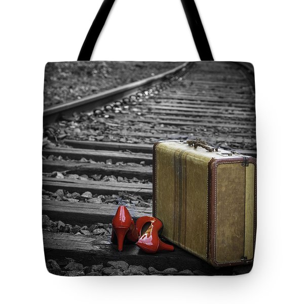 Tote Bag featuring the photograph Echoes Of A Past Life by Patrice Zinck