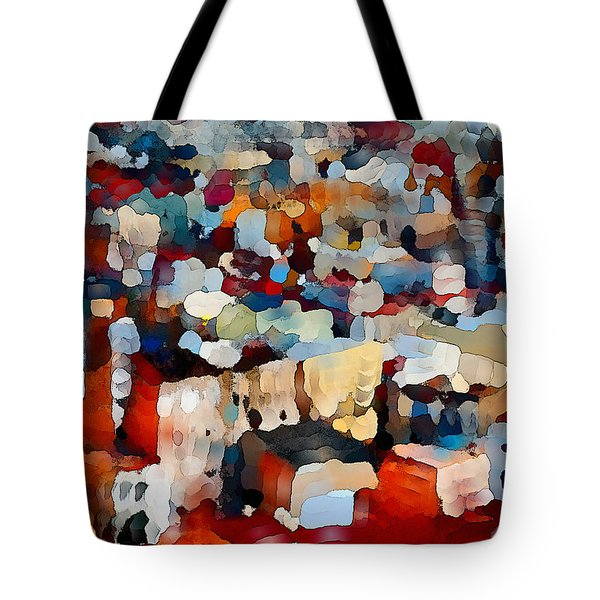 Echoes Of Civilization  Tote Bag