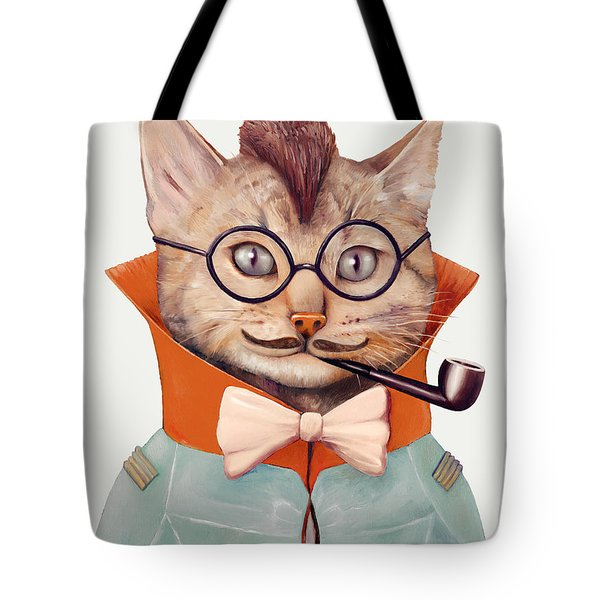 Eclectic Cat Tote Bag by Animal Crew