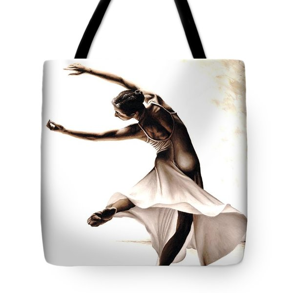 Eclectic Dancer Tote Bag by Richard Young