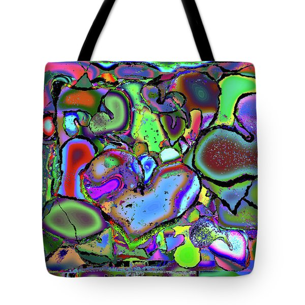 Eclectic Love Overflows Tote Bag