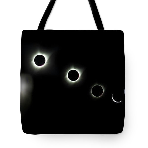 Eclipse America 2017 Tote Bag by James Heckt