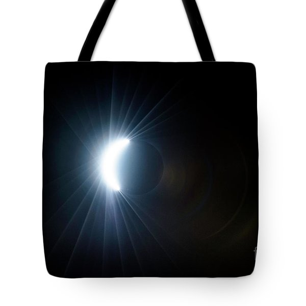 Eclipse Before Totality Tote Bag