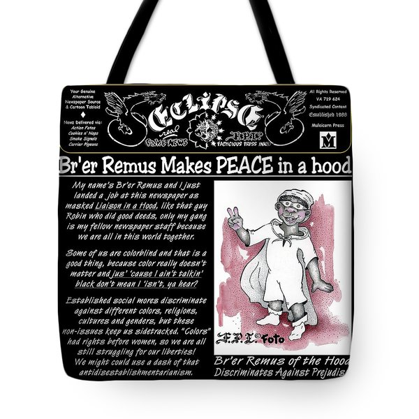 Real Fake News Br'er Remus Tote Bag
