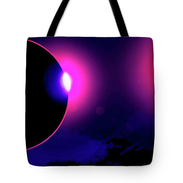 Eclipse Of 2017 Tote Bag
