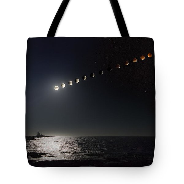 Eclipse Of The Moon Tote Bag