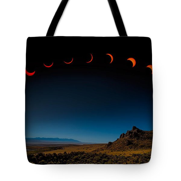 Eclipse Pano Tote Bag