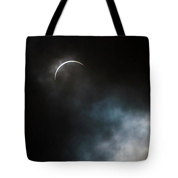 Eclipsed Crescent Iv Tote Bag
