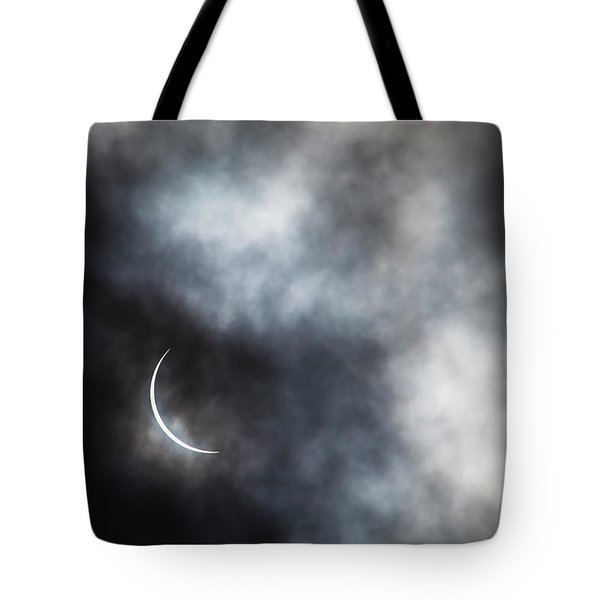 Eclipsed Crescent II Tote Bag