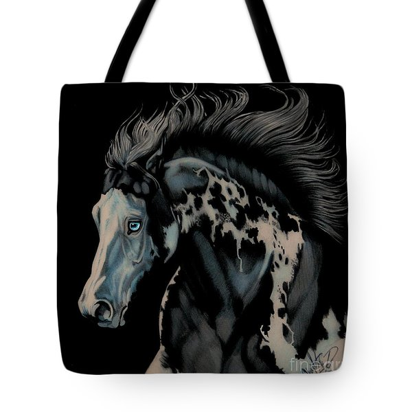 Eclipse's Full Moon Tote Bag by Cheryl Poland