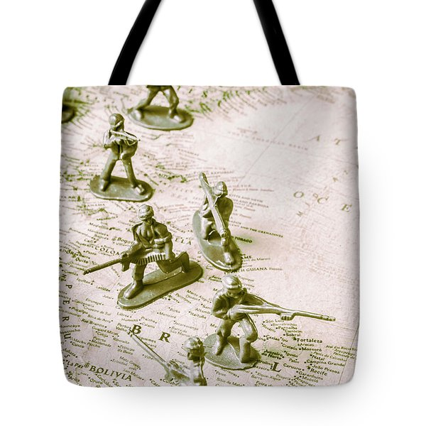 Economic Hit Men Tote Bag by Jorgo Photography - Wall Art Gallery