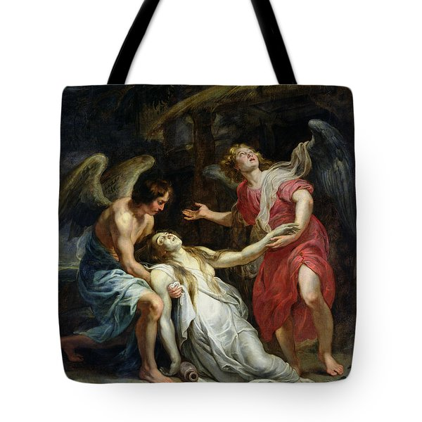 Ecstasy Of Mary Magdalene Tote Bag by Peter Paul Rubens