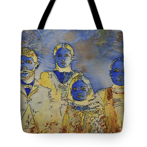 Tote Bag featuring the painting Ectoplasma 2 by Cynthia Powell