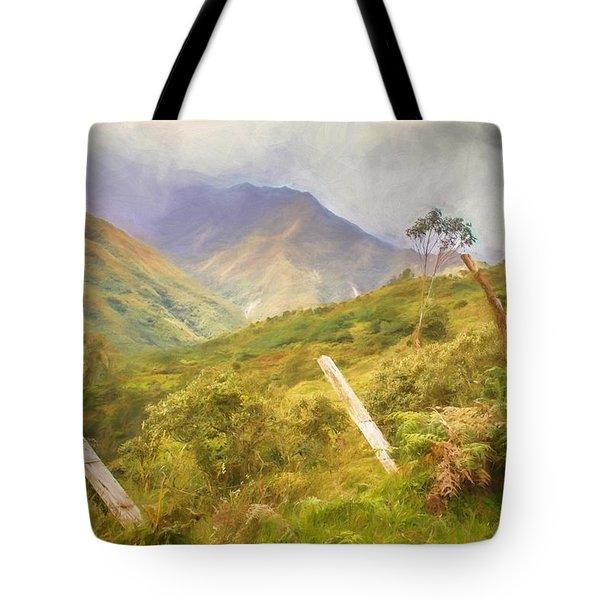 Ecuadorian Mountain Forest Tote Bag