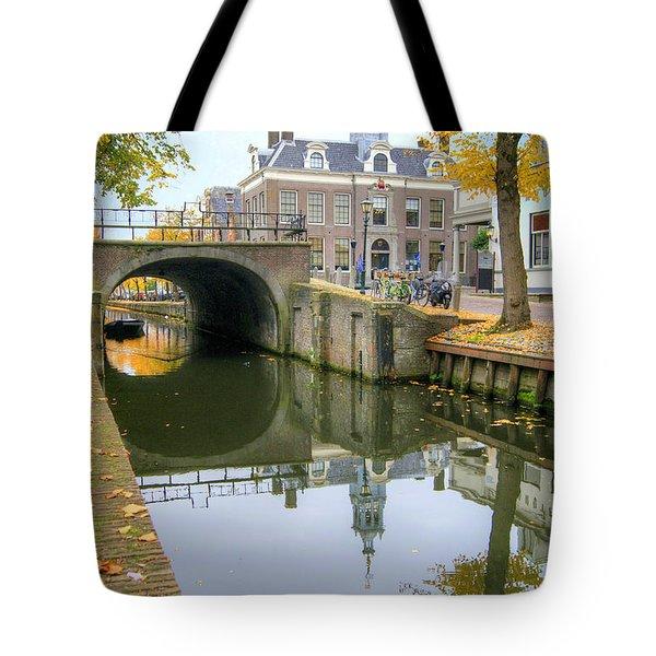Edam Town Hall Tote Bag