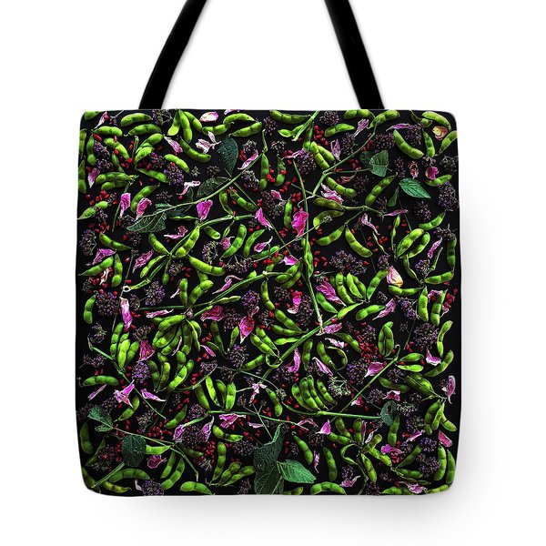 Edamame Patterns Tote Bag