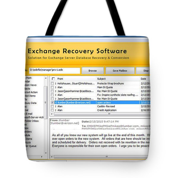 Edb To Ps T Software  Tote Bag