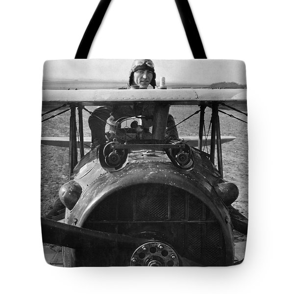 Eddie Rickenbacker - World War One - 1918 Tote Bag