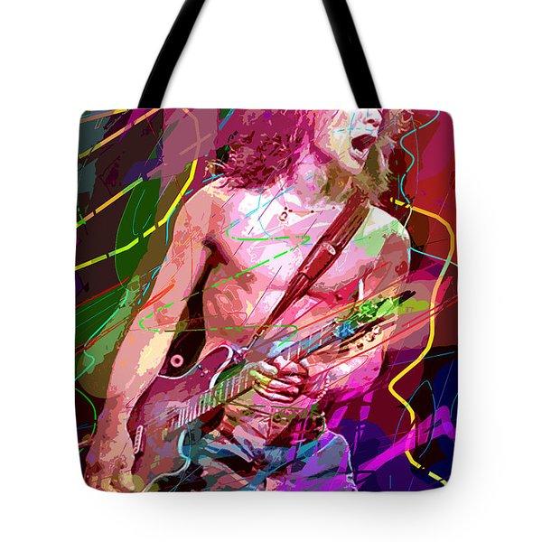 Eddie Van Halen Jump Tote Bag