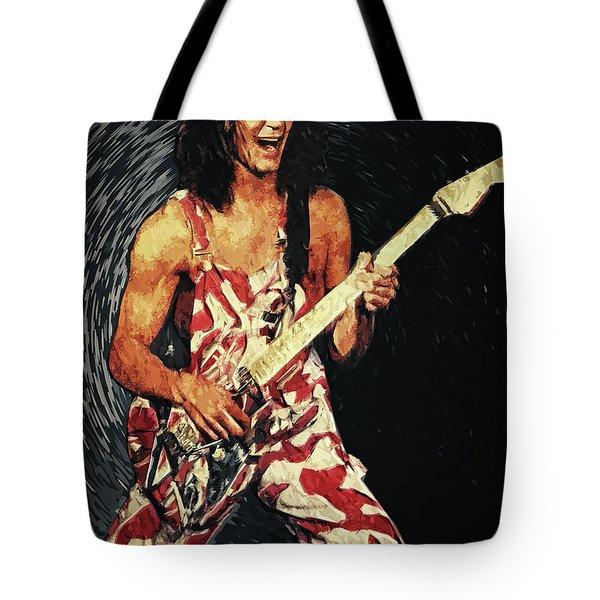 Eddie Van Halen Tote Bag