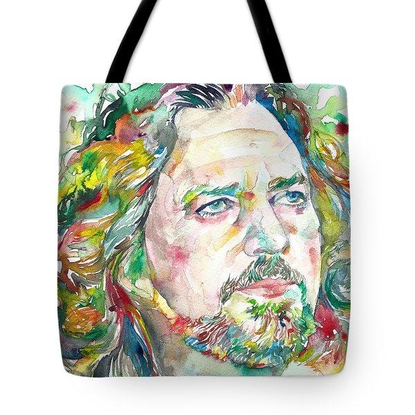 Eddie Vedder Tote Bag