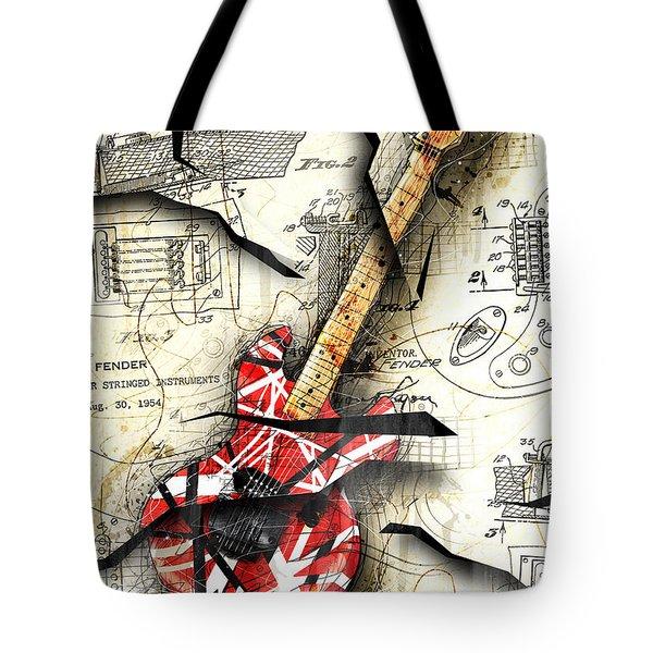 Eddie's Guitar Tote Bag