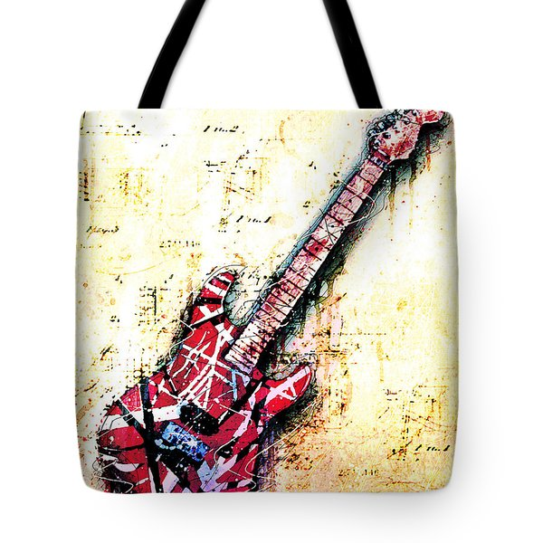 Eddie's Guitar Variation 07 Tote Bag by Gary Bodnar