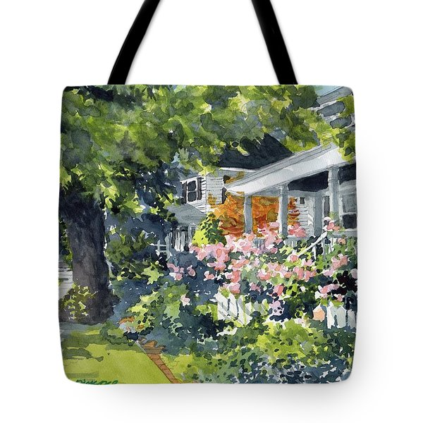 Edenton Floral Tote Bag