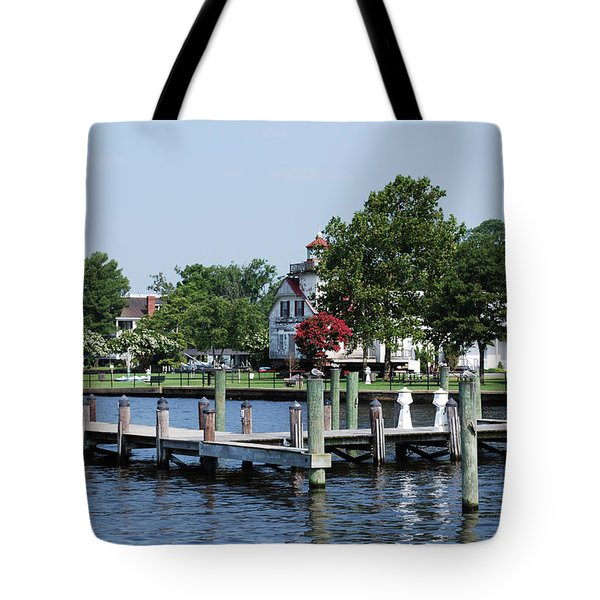 Edenton Waterfront Tote Bag