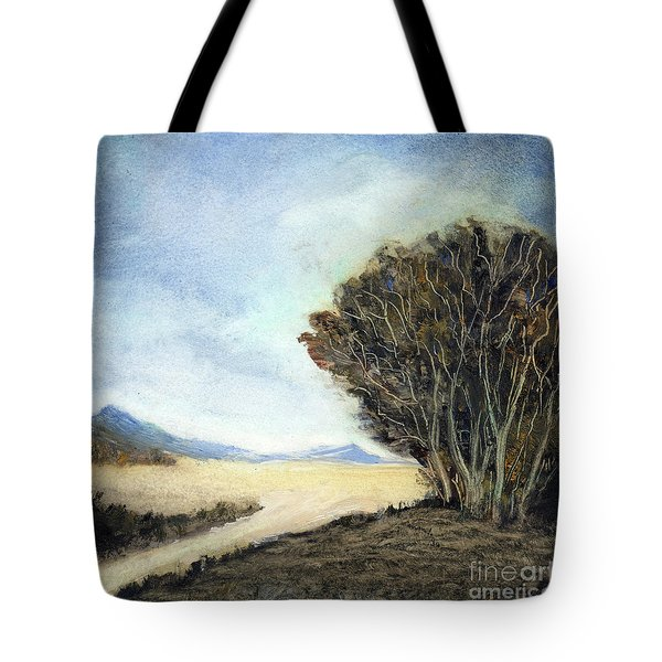 Edge Of The Mohave Tote Bag