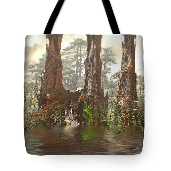 Edge Of The Old Forest Tote Bag
